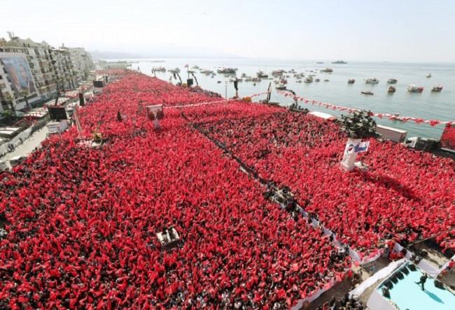 Zeybekci'ye muhteşem destek  'İzmir'in Efesi' Nihat Zeybekci
